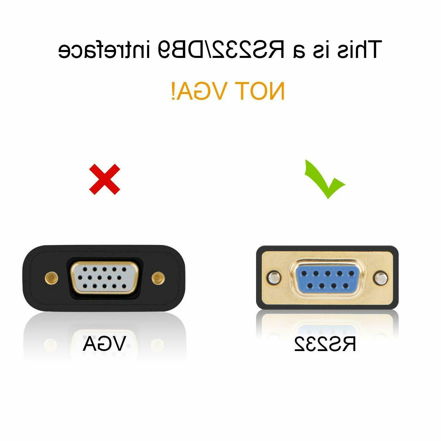 USB to with DB9 Serial