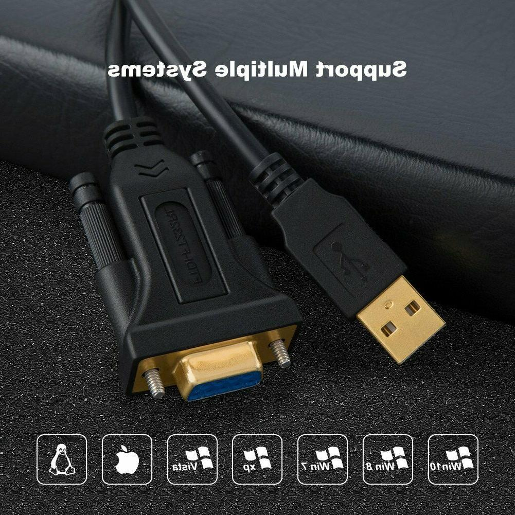 USB with CableCreation DB9 Serial