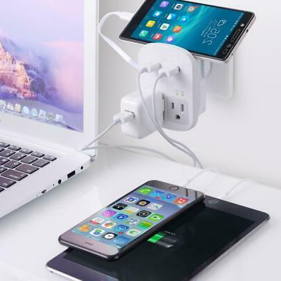 Ceptics Adapter USB 2 US Outlets