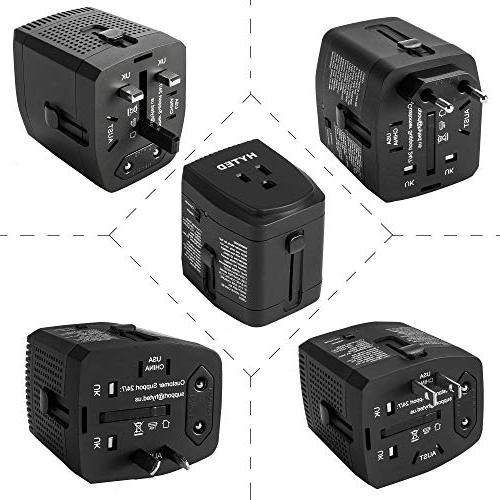 World Travel Adapter and 2000 110v US AU MacBook Phone