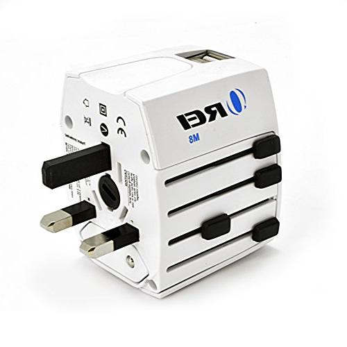 Travel OREI Power Power Plug Plug Wall with Dual USB Ports for AUS Cell