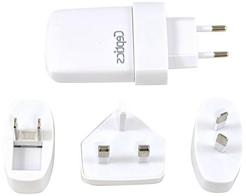 worldwide 2 1a dual usb