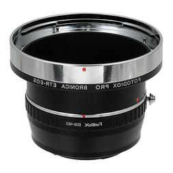 Fotodiox Pro Lens Mount Double Adapter - Bronica ETR Mount S