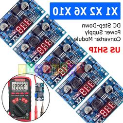 LM2596 Buck Step-down Power Converter Module DC 2.5~40 to 1.