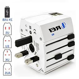 OREI World Travel Adapter Plug International All in One Powe