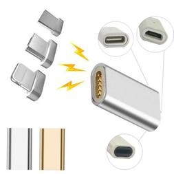 Magnetic Fast Charger Data Cable Converter Adapter For iPhon