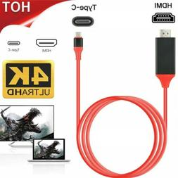 MHL USB Type C to HDMI HDTV TV Cable Adapter Converter For M