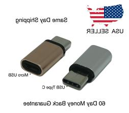 Micro USB Adapter to USB Type-C Adapter Converter Mini Chang