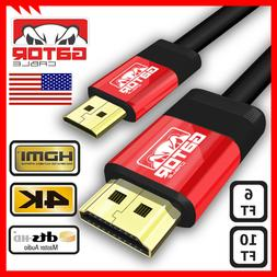 Mini HDMI to HDMI Cable Adapter Converter 4K UHD High Speed