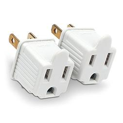 CyberPower MP1043WW Grounding Adapter 2-Pack