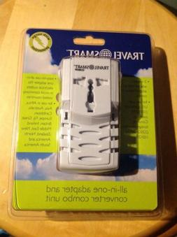 New Conair Travel Smart All In One Adapter And Converter Com