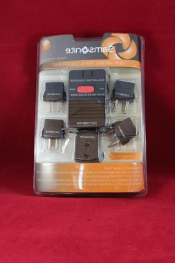 * NIB* Samsonite Dual Wattage Converter and Adaptors Plug Ki