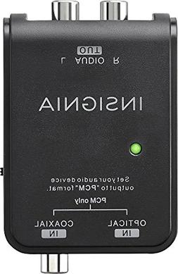 Insignia Optical/Coaxial Digital-to-Analog Converter - Black