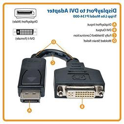 TRIPP LITE P134-000 DisplayPort to DVI Cable Adapter, Conver