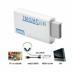 Portable Wii to HDMI Wii2HDMI Full HD Converter Audio Output