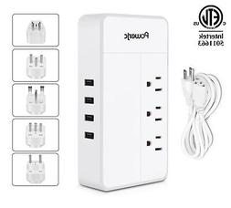 Power Adapter Voltage converter 220V to 110V 1875W with 4 US