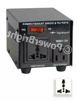 Power Bright VC100W Voltage Transformer 100 Watt Step Up/Dow