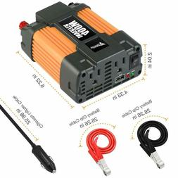 Ampeak 400W Power Inverter DC 12V to 110V AC Converter with