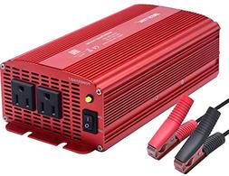 BESTEK Power Inverter 1000 Watt DC 12 Volt Power Converter 1
