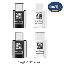 For Samsung Galaxy S8 / S9 Plus Micro USB To Type-C Adapter