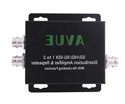 AVUE 3G-SDI/HD-SDI/SDI 1 to 2 Distribution Repeater & Extend