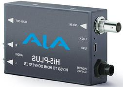 AJA 3G-SDI to HDMI Mini Converter with PsF to P Support, 2-C