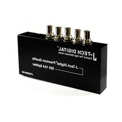 J-Tech Digital ® Premium Quality SDI Splitter 1x4 Supports