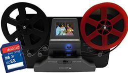 "Wolverine 8mm and Super8 Reels Movie Digitizer with 2.4"" LCD"