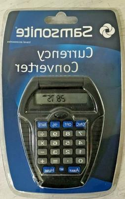 Samsonite Travel Accessories Currency Converter New In Packa