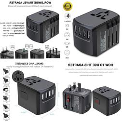 Travel Adapter Universal Plug For Worldwide International Po