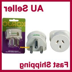 Travel Power Adapter Outlet AU/NZ Socket to South Africa SA/