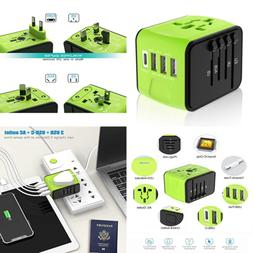 Travel Plug Adapter Universal Power International W 3.4A 3 U