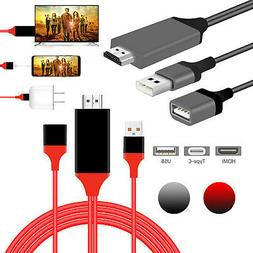 3in1 1080P HD USB to HDMI Cable Cord Converter for iPad/iPho