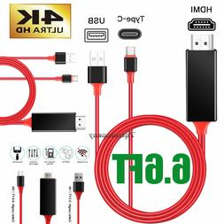NEW USB Type C to HDMI HDTV TV Cable Adapter Converter For M
