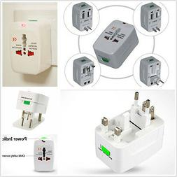 Universal 110-220V US EU AU UK World Travel Power Socket Plu