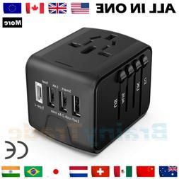 Universal International Travel Wall Charger Power Adapter Ty