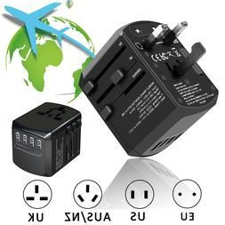 universal travel adapter wall charger ac power