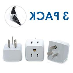 Ceptics USA to Australia, New Zealand, China Travel Adapter