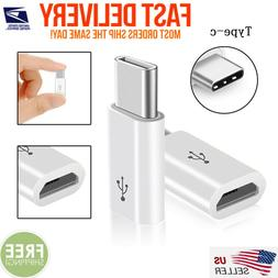 USB 3.1 Type C Male to Micro USB Female Adapter Converter Co