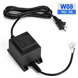 Voltage Converter Transformer 110/120V to AC 12V/5A, 60-Watt