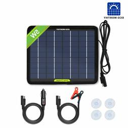 ECO 5W Solar Panel Ploy Solar Module 12V Battery Charger for