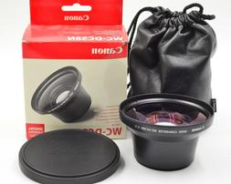 Canon WC-DC58N 0.7x Wide Angle Converter Lens For PowerShot