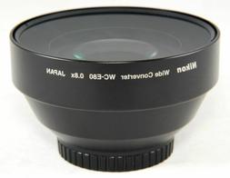 Nikon WC-E80 Wide Angle Converter - Black