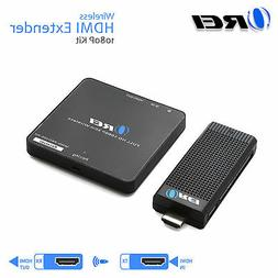 Orei Wireless Pro HDMI Extender Transmitter & Receiver Dongl