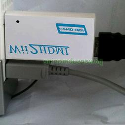 Wii to HDMI 720P 1080P HD Output Upscaling Wii2HDMI Console