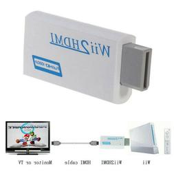 Wii To HDMI Full HD 720P/1080P Upscaling Converter Adapter w