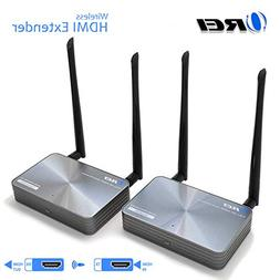 OREI Wireless HDMI Extender Transmitter & Receiver - Upto 30